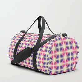 violet and pink fragments Duffle Bag
