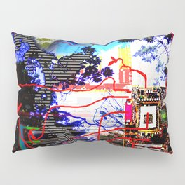 the Wired Forest Pillow Sham