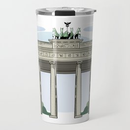 Brandenburg Gate in Berlin Travel Mug