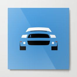 Ford Mustang Shelby GT500 ( 2013 ) Metal Print