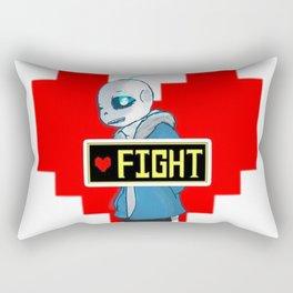 sans the skeleton Rectangular Pillow