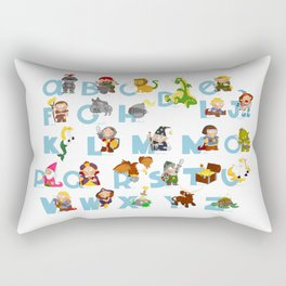 ABC  medieval (english) Rectangular Pillow