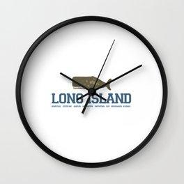 Long Island - New York. Wall Clock