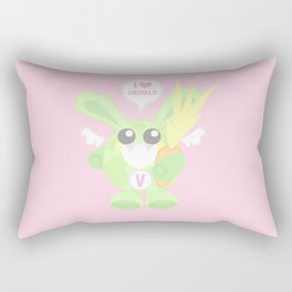 Bunbun Veggie Rectangular Pillow
