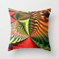 brasil Throw Pillows featuring Brasil by Lyle Hatch