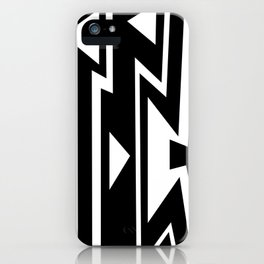 Triangles in Lines iPhone Case