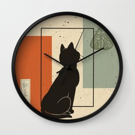 Wait for moving Wall Clock