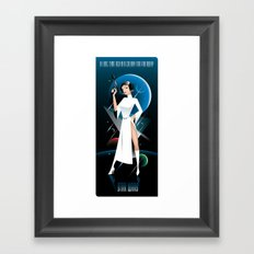 Star Wars-Leia Framed Art Print