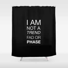 The Trend Shower Curtain
