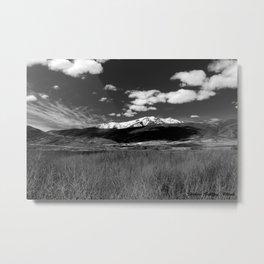 Heber Valley, Utah Mountains Metal Print