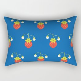 Fruit: Strawberry Rectangular Pillow