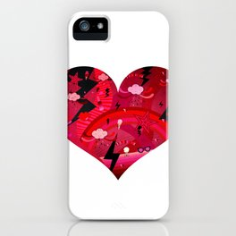 BIG HEART iPhone Case