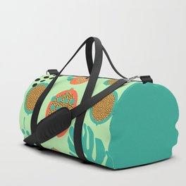 Grapes and tropical fruits Duffle Bag