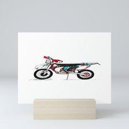 Motorbike Mini Art Print