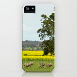 Country Western Australia iPhone Case
