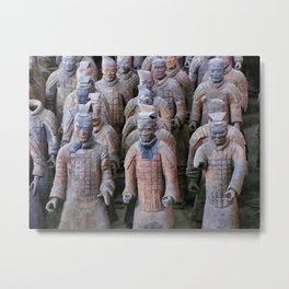 Terracotta Warriors 2 Metal Print