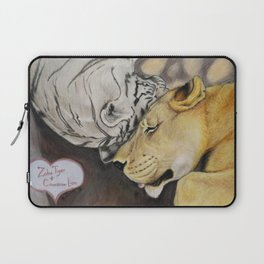 """CamBu"" Cameron Lion & Zabu Tiger Laptop Sleeve"