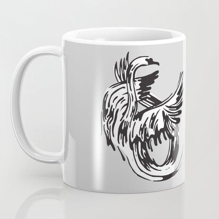 S as in Swan Coffee Mug
