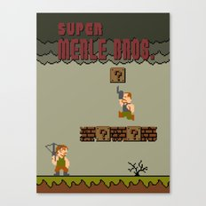 Super Merle Bros. Canvas Print