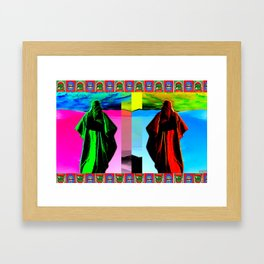 ALGERIA Framed Art Print