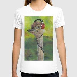 Sweet Pam the Jam Ostrich T-shirt