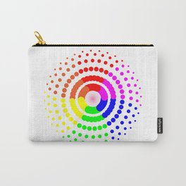 Circular LGBT Pattern Carry-All Pouch