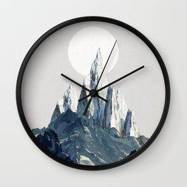 Full moon 2 Wall Clock