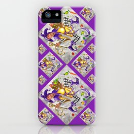 Peace, Plenty and Happiness Fool iPhone Case