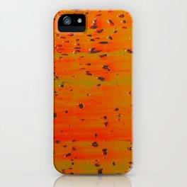 Bio-morphic Acid Wash iPhone Case