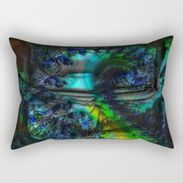 Treasure from an abstract attick Rectangular Pillow