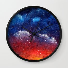 Explosions In The Sky Wall Clock