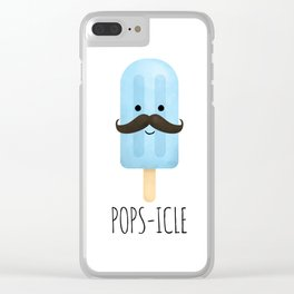 Pops-icle Clear iPhone Case