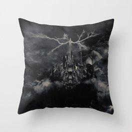Final Fantasy VIII - Ultimecia's Castle Throw Pillow