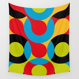 I really like this one, curves, circles, colors. Something Psychedelic probably. Or Acid. Wall Tapestry