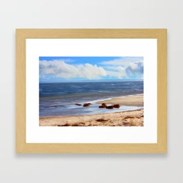On A Clear Day - Painterly Framed Art Print