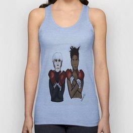 Warhol Basquiat Unisex Tank Top