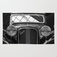car Area & Throw Rugs featuring Car by Veronika