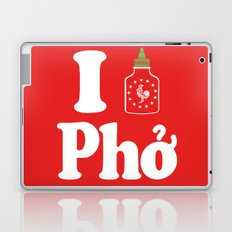 I Heart Pho Laptop & iPad Skin