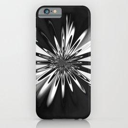 Black Daisy Tie Dye Floral Flower iPhone Case