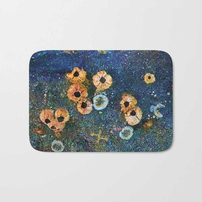 Abstract beautiful barnacles Bath Mat