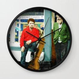 Luke and Ronnie at O'Donaghues Wall Clock