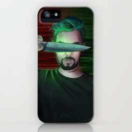 Antisepticeye iPhone Case