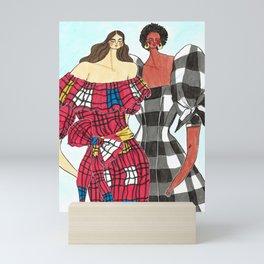 Mara Hoffman Girls – Original Fashion art, Fashion Illustration, Fashion wall art Mini Art Print