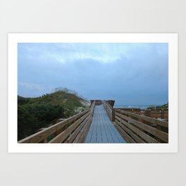 Dreary Days and Getaways Art Print