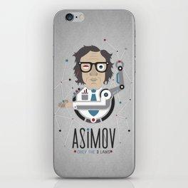 """Asimov's Laws"" iPhone Skin"