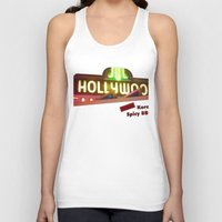hollywood Tank Tops featuring Hollywood Neon by Umbrella Design