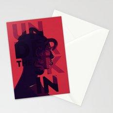 Under the skin - alternative movie poster Stationery Cards
