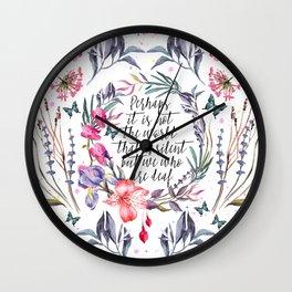 TS Silence Wall Clock