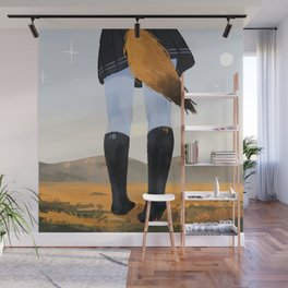 Fox in socks Wall Mural