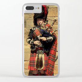 The Lonely Busker #1 Clear iPhone Case